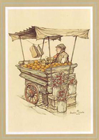 The Orange Seller (*)