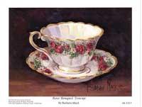 Rose Bouquet Teacup (*)