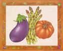 Eggplant, Asparagus & Squash (*)