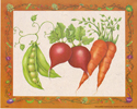 Peas, Beets & Carrots (*)