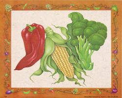 Pepper, Corn & Broccoli (*)