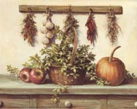Hanging Dried Herbs (ML) (*)