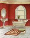 Pedestal Bath I (*)