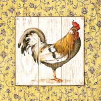 Provence Roosters 1