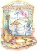 Mandolin and Flute (*)