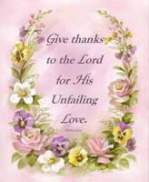 Give Thanks (*)