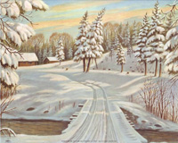 Winter Scene II