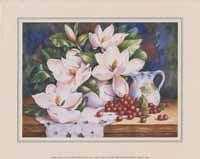 Magnolias and Pitcher (*)