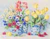 Spring Garden In Blue II (*)