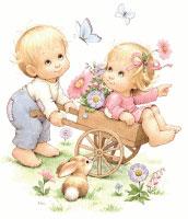 Flower Cart (*)