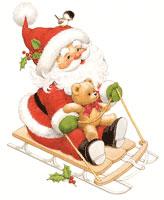 Sled Ride With Santa (*)