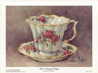 Rose Nosegay Teacup (*)