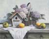 Birdhouse, Hydrangea Apple (*)