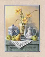 Country Teaset/Yellow Lilies (*)