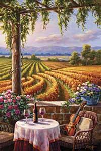 Vineyard and Violin (*)