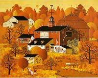 Autumn By Charles Wysocki