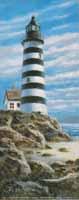 Light House on Rocks III (*)