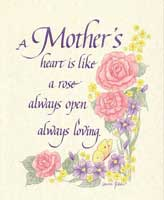 For Mother's (*)