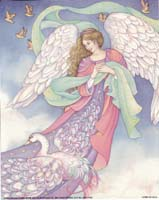 Nobel Angel with Goose (*)