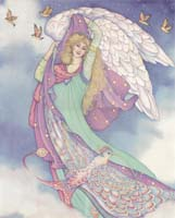Noble Angel with Dove (L)